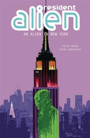 RESIDENT ALIEN VOLUME 5 AN ALIEN IN NEW YORK GRAPHIC NOVEL