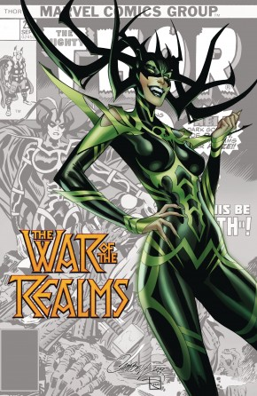 WAR OF THE REALMS #1 JS CAMPBELL VARIANT