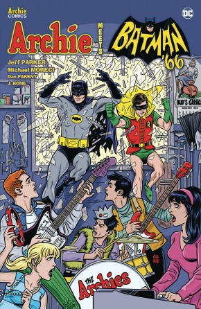 ARCHIE MEETS BATMAN 66 GRAPHIC NOVEL