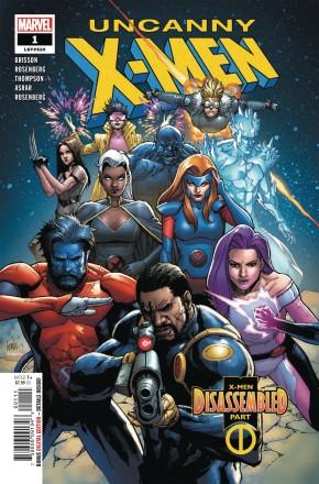 UNCANNY X-MEN #1 (2018 SERIES)