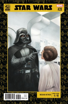 STAR WARS #28 (2015 SERIES) STAR WARS 40TH ANNIVERSARY VARIANT COVER