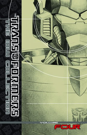 TRANSFORMERS IDW COLLECTION VOLUME 4 HARDCOVER