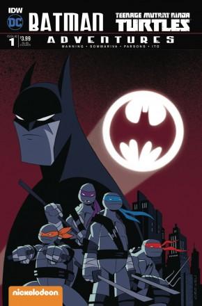BATMAN TEENAGE MUTANT NINJA TURTLES ADVENTURES #1 SUBSCRIPTION COVER B