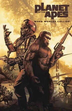 PLANET OF THE APES WHEN WORLDS COLLIDE GRAPHIC NOVEL