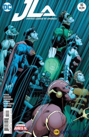 JUSTICE LEAGUE OF AMERICA VOLUME 4 #10 ROMITA VARIANT EDITION