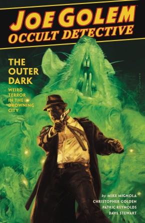 JOE GOLEM OCCULT DETECTIVE VOLUME 2 OUTER DARK HARDCOVER