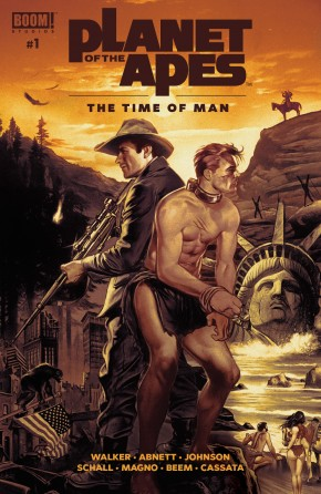 PLANET OF THE APES THE TIME OF MAN #1