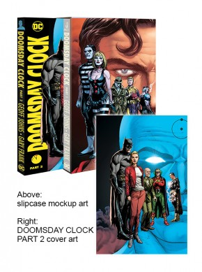 DOOMSDAY CLOCK PART 2 HARDCOVER WITH SLIPCASE