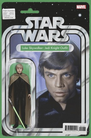 STAR WARS EMPIRE ASCENDANT #1 LUKE SKYWALKER JEDI KNIGHT OUTFIT ACTION FIGURE VARIANT