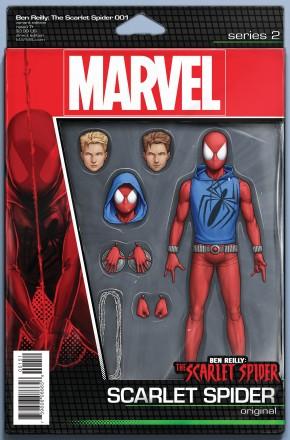 BEN REILLY SCARLET SPIDER #1 CHRISTOPHER ACTION FIGURE VARIANT COVER