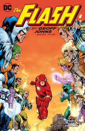 FLASH BY GEOFF JOHNS BOOK 5 GRAPHIC NOVEL