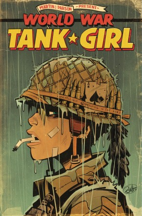 TANK GIRL WORLD WAR TANK GIRL GRAPHIC NOVEL