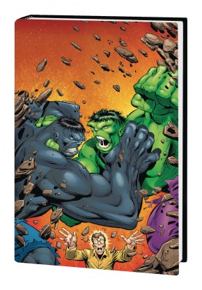 INCREDIBLE HULK BY PETER DAVID OMNIBUS VOLUME 2 KEOWN HULK HARDCOVER