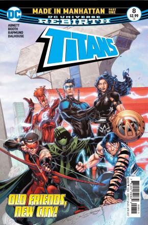 TITANS #8 (2016 SERIES)