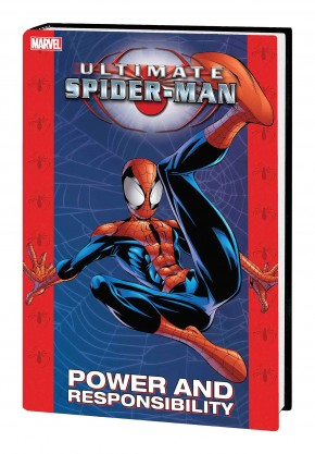 ULTIMATE SPIDER-MAN POWER AND RESPONSIBILITY MARVEL SELECT HARDCOVER
