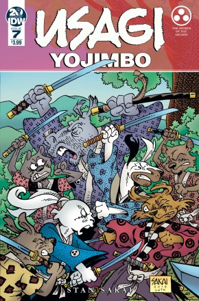 USAGI YOJIMBO #7 (2019 SERIES)