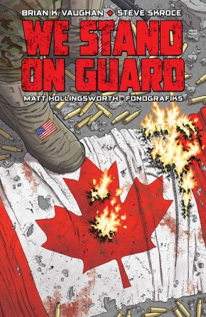 WE STAND ON GUARD GRAPHIC NOVEL