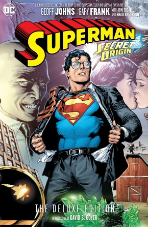SUPERMAN SECRET ORIGIN DELUXE EDITION HARDCOVER