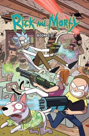 RICK AND MORTY BOOK 6 DELUXE HARDCOVER