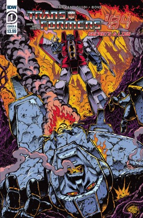 TRANSFORMERS 84 SECRETS AND LIES #1 COVER A