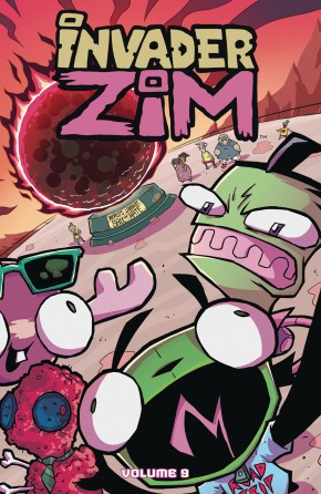 INVADER ZIM VOLUME 9 GRAPHIC NOVEL