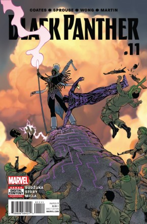 BLACK PANTHER #11 (2016 SERIES)