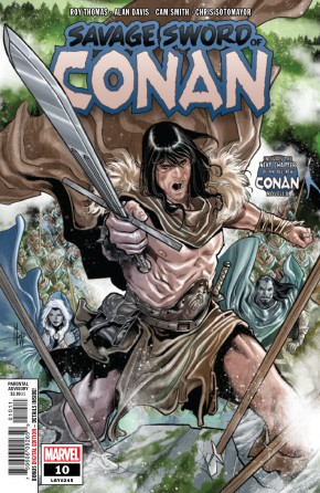 SAVAGE SWORD OF CONAN #10
