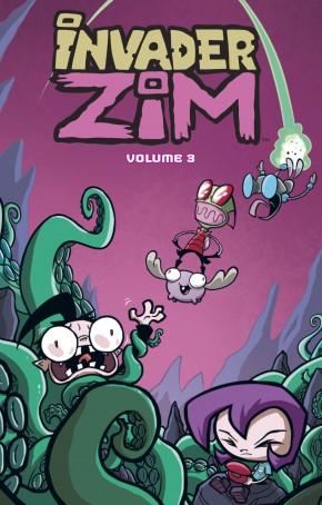 INVADER ZIM VOLUME 3 GRAPHIC NOVEL