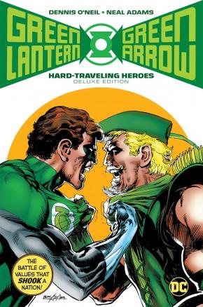 GREEN LANTERN GREEN ARROW HARD TRAVELING HEROES DELUXE HARDCOVER