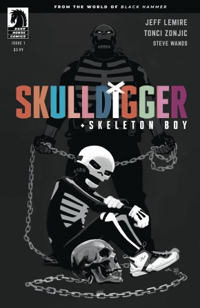 SKULLDIGGER & SKELETON BOY #1