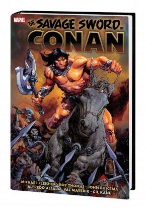 SAVAGE SWORD OF CONAN THE ORIGINAL MARVEL YEARS OMNIBUS VOLUME 6 HARDCOVER