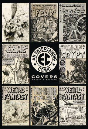 EC COVERS ARTIST EDITION HARDCOVER