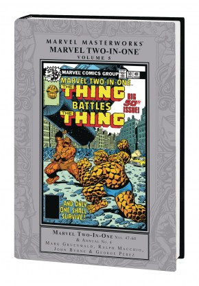 MARVEL MASTERWORKS MARVEL TWO IN ONE VOLUME 5 HARDCOVER