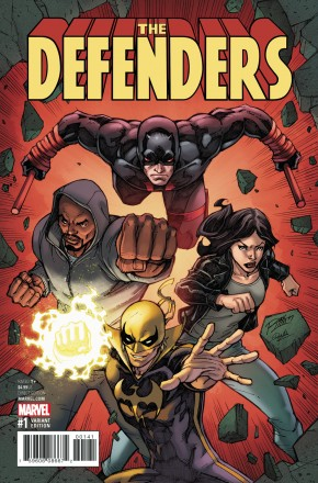 DEFENDERS #1 LIM VARIANT COVER