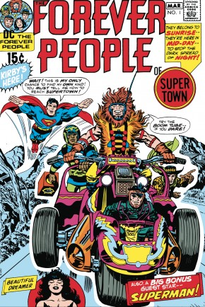 FOREVER PEOPLE BY JACK KIRBY GRAPHIC NOVEL