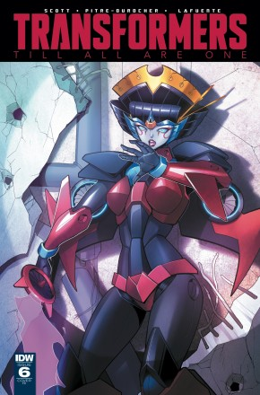 TRANSFORMERS TILL ALL ARE ONE #6 1 IN 10 INCENTIVE VARIANT COVER