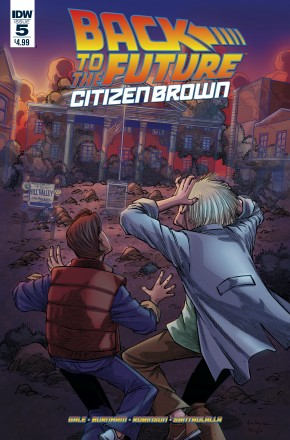 BACK TO THE FUTURE CITIZEN BROWN #5
