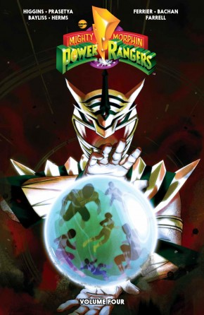 MIGHTY MORPHIN POWER RANGERS VOLUME 4 GRAPHIC NOVEL