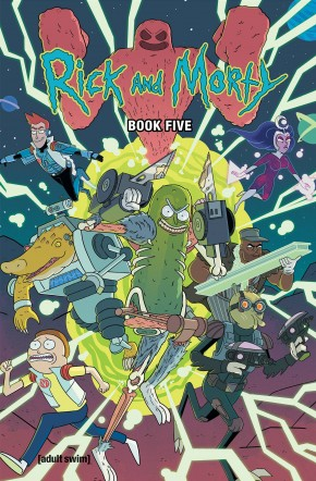 RICK AND MORTY BOOK 5 DELUXE HARDCOVER