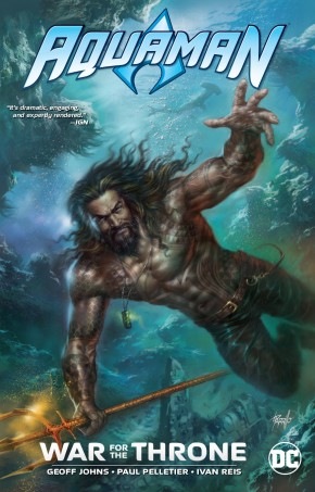 AQUAMAN WAR FOR THE THRONE GRAPHIC NOVEL NEW EDITION
