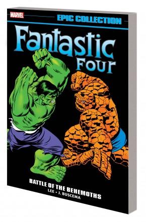 FANTASTIC FOUR EPIC COLLECTION BATTLE OF THE BEHEMOTHS GRAPHIC NOVEL