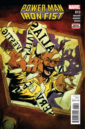 POWER MAN AND IRON FIST #13 (2016 SERIES)