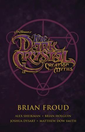 JIM HENSON DARK CRYSTAL SOFTCOVER BOX SET CREATION MYTHS