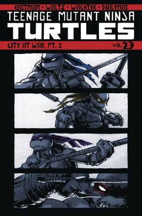 TEENAGE MUTANT NINJA TURTLES VOLUME 23 CITY AT WAR PART 2 GRAPHIC NOVEL