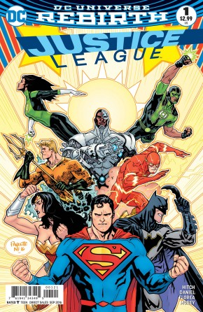 JUSTICE LEAGUE VOLUME 3 #1 VARIANT EDITION