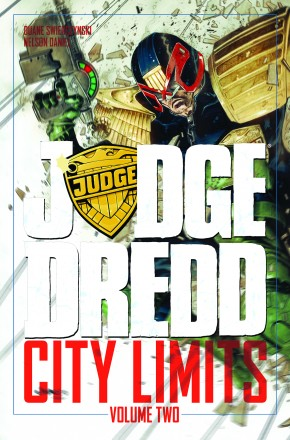 JUDGE DREDD CITY LIMITS VOLUME 2 GRAPHIC NOVEL