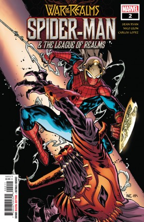 WAR OF THE REALMS SPIDER-MAN & LEAGUE OF REALMS #2