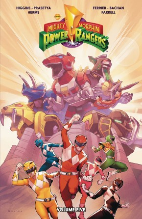 MIGHTY MORPHIN POWER RANGERS VOLUME 5 GRAPHIC NOVEL