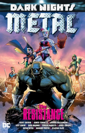 DARK NIGHTS METAL THE RESISTANCE GRAPHIC NOVEL