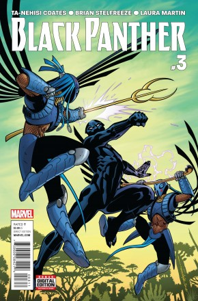 BLACK PANTHER VOLUME 6 #3